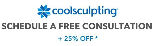 free coolsculpting consultation + 25% OFF